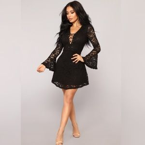 NWOT Fashion Nova black dress